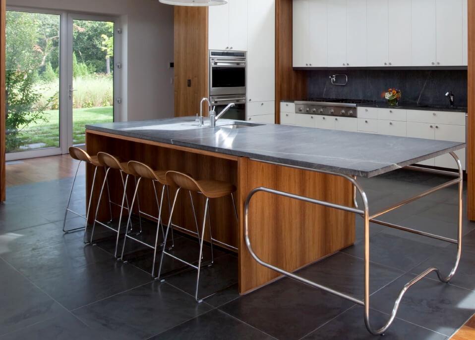 modern soapstone kitchen