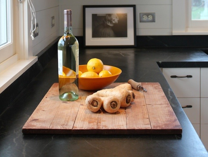 Soapstone Counter Narusawa Cottage by Justine Hand Remodelista